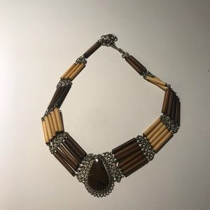 Jewelry - Sold!! Vintage beaded choker necklace